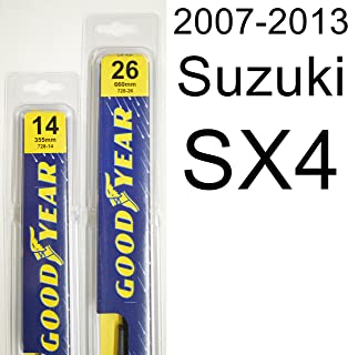 "product image for Suzuki SX4 (2007-2013) Wiper Blade Kit - Set Includes 26"" (Driver Side), 14"" (Passenger Side) (2 Blades Total)"