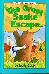 The Great Snake Escape (An I Can Read Book) Hardcover