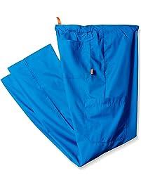 Orange Standard Mens Big and Tall Huntington Unisex Scrub Pants with Drawstring Waist and 4 Pockets Medical Scrubs Pants