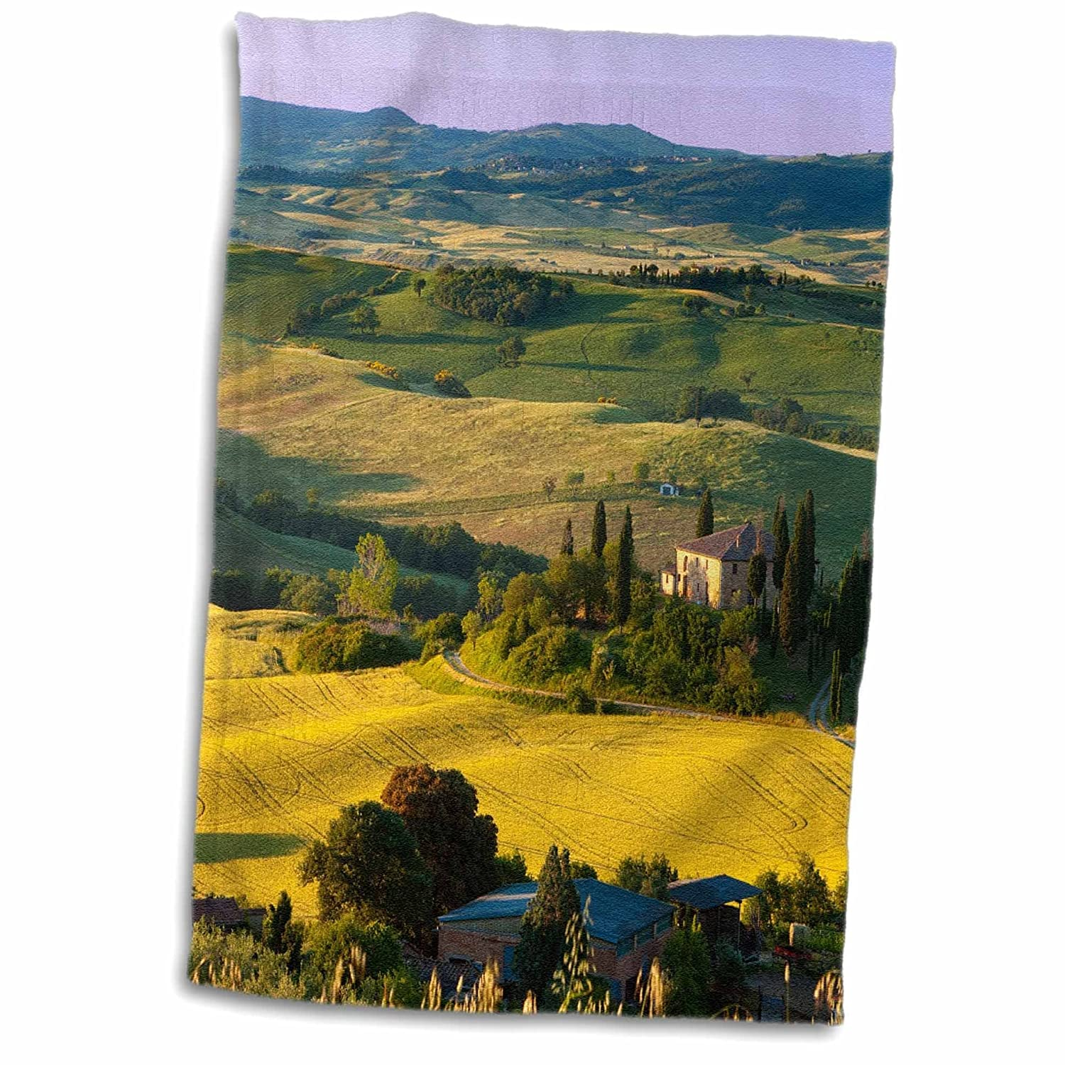 3D Rose Belvedere and Tuscan Countryside-Tuscany-Italy-Eu16 Bjn0253-Brian Jannsen Towel 15 x 22 3dRose twl/_137692/_1