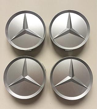 Mercedes Benz 4 x 64 mm Caps centro de la rueda tapacubos Wheel Centre Hub Caps: Amazon.es: Coche y moto