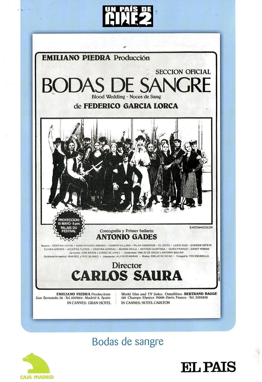 Amazon.com: Bodas De Sangre (Non Us Format) (Region 2) (Import): Carlos Saura: Movies & TV