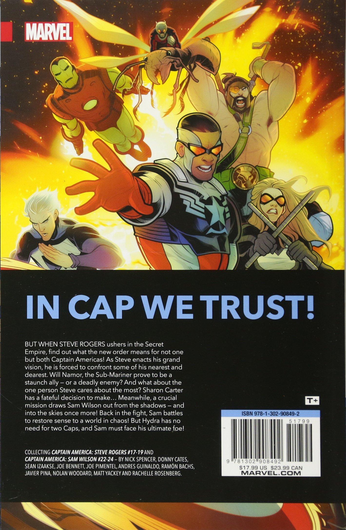 Amazon com: Captain America: Secret Empire (9781302908492