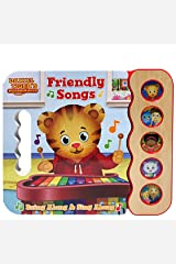 Daniel Tiger's Friendly Songs: Daniel Tiger's Neighborhood (Early Bird Sound Books 5 Button) Board book