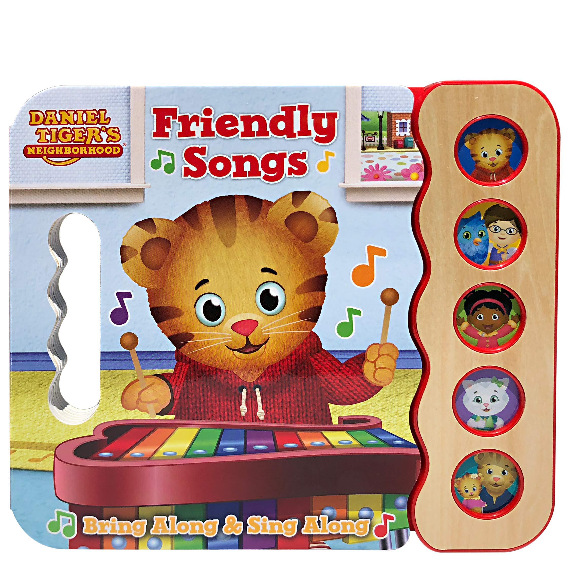 Daniel Tiger's Friendly Songs (5 Button Early Bird Sound) - Daniel Tiger's Neighborhood