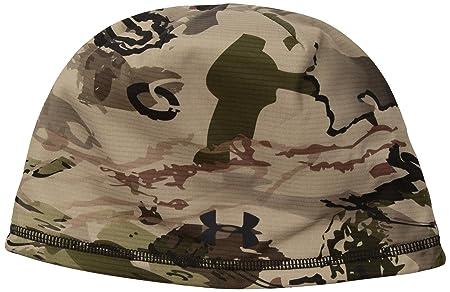 d7b6b099fce Amazon.com  Under Armour Men s Scent Control Storm Fleece Beanie ...
