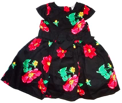 28f8e7ddec38 Amazon.com: Carter's Baby Girls' Floral Dress 6 Months: Clothing