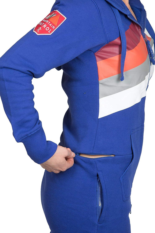 Jumpsuit Retro Blue Summit Suit UNISEX Onesie Onepiece
