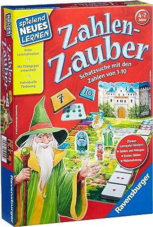 Ravensburger Zahlen-Zauber Niños Juego de Mesa de Aprendizaje ...