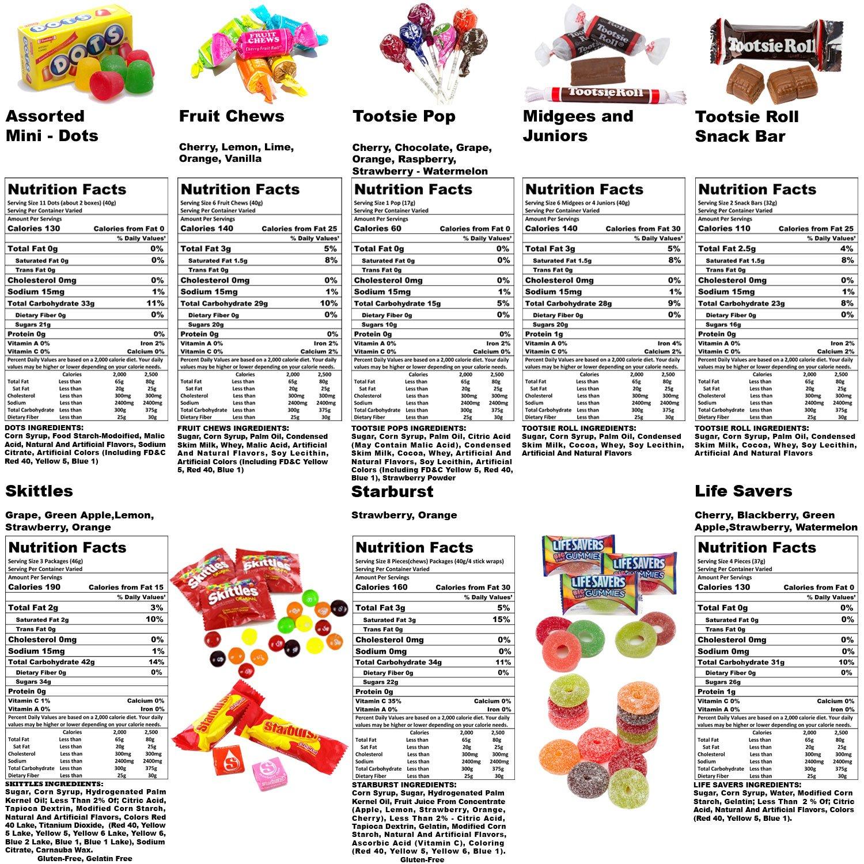 Bulk Starburst & Tootsie Favorites 9.5 Lb Candy Variety Value Bundle Care Package 400+ Pcs (152 Oz) by Assortit (Image #3)