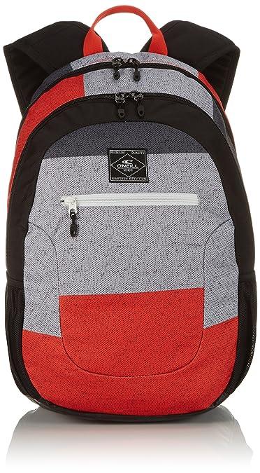 4895799b49b46e O'Neill Rucksack AC Ledge Backpack, Black AOP Red, 21 x 30 x 46 cm, 30  Liter: Amazon.co.uk: Sports & Outdoors