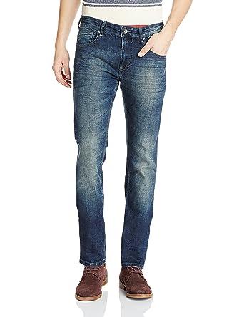 6c1e6018ba Pepe Jeans Men's Felman V Slim Fit Jeans: Amazon.in: Clothing & Accessories