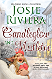 Candleglow and Mistletoe: A Sweet Holiday Romance Novella
