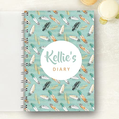 03f180579afd Personalised Diary Feathers. Choose year 2017