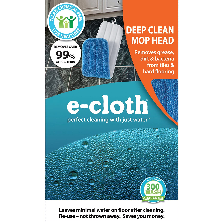 Amazon.com: E-Cloth Deep Clean Mop Head, Perfect Chemical Free ...