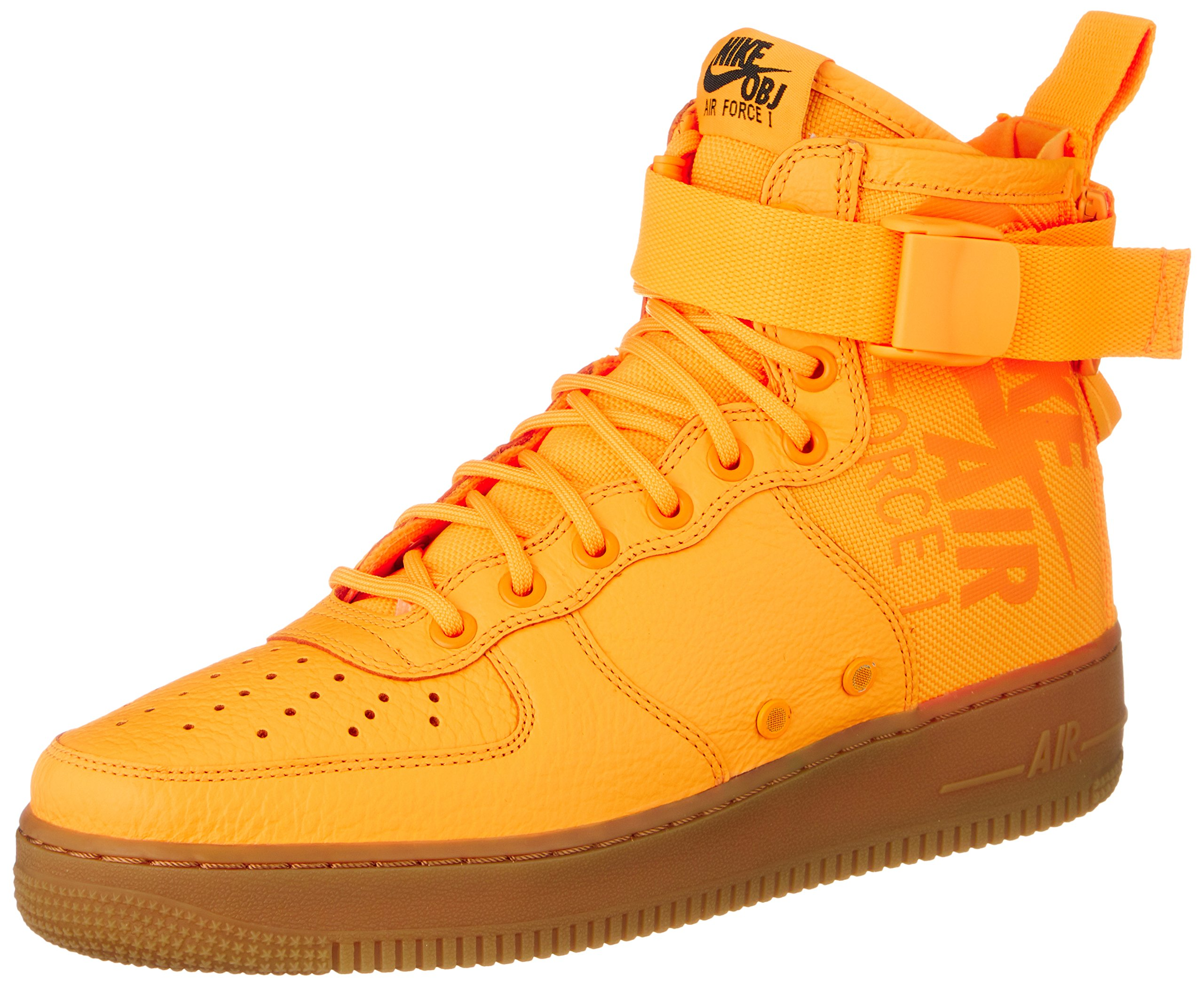 cheap for discount f17cc 7c2b8 Nike SF AF1 MID 917753 801 Laser Orange OBJ Odell Beckham Men's Shoes (11)