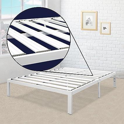 Amazon.com: Best Price Mattress Queen Bed Frame - 14 Inch Metal ...