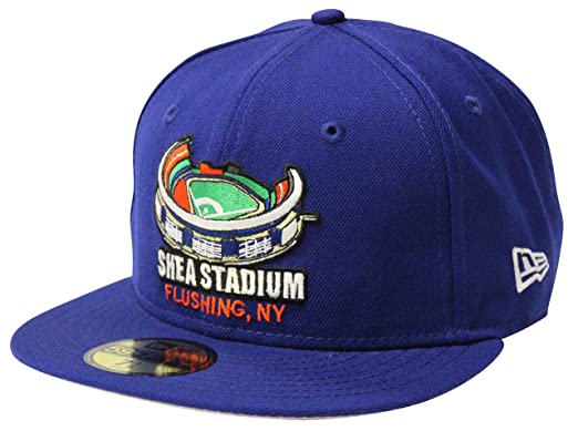 new york mets cap space era stadium fitted logo font baseball