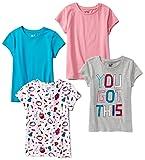 Amazon Price History for:Spotted Zebra Girls' 4-Pack Short Sleeve T-Shirt