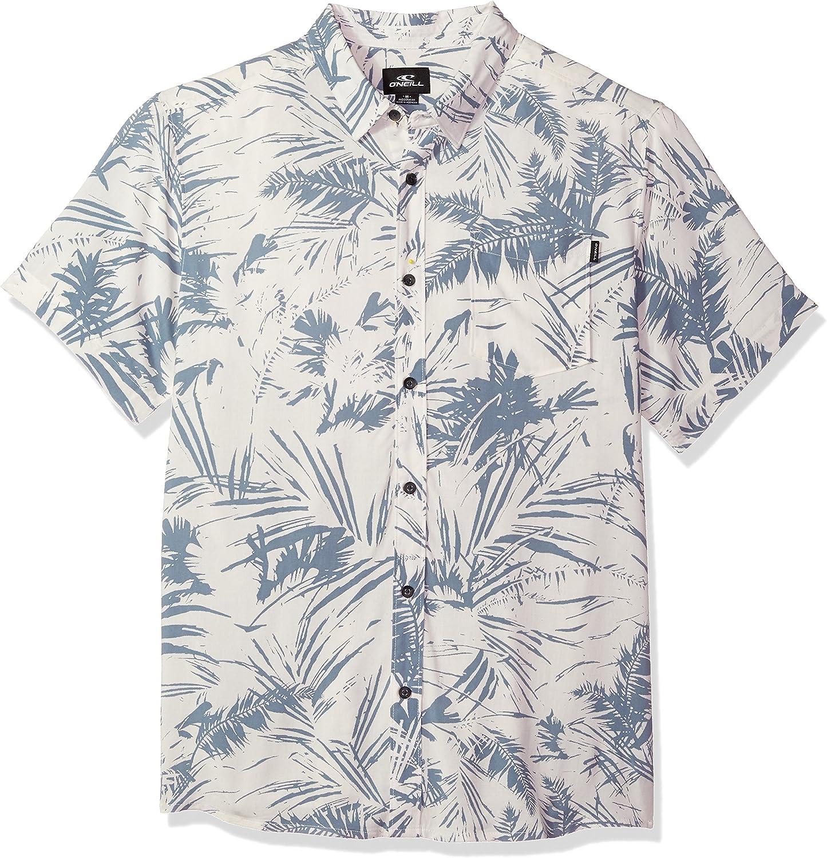 ONEILL Camisa de manga corta con botones para hombre estilo casual y moderno - Blanco - X-Large: Amazon.es: Ropa y accesorios