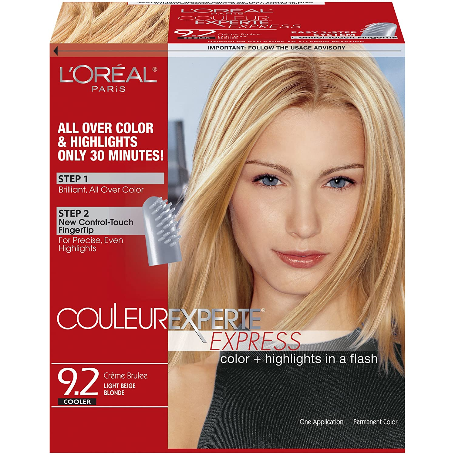 Loreal Paris Couleur Experte Express Hair Color 92 Light Beige