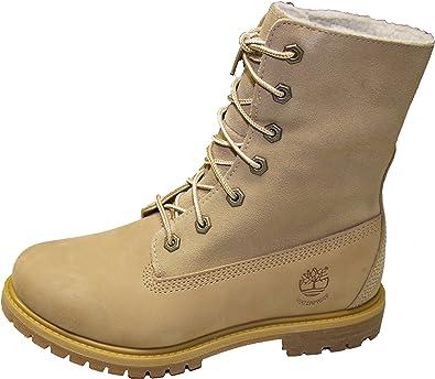 Authentic Teddy Fleece Leather Boots
