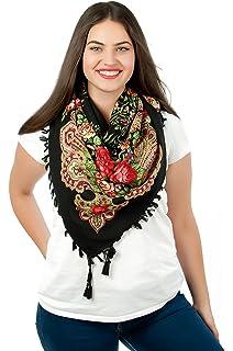 7e8f06c3aebb Motif floral coloré style vintage Motif écharpe nouvelle collection de  printemps