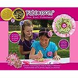 Fablossom Maker Craft Kit: Kids Design & Create Fabric Flowers & More for Headbands - Best Gift for Girls