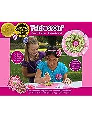 Fablossom Fabric Starter Craft Kit: Design & Create DIY Fabric Flowers for Headbands - Best Gift for Girls