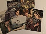 Star Wars Original 1977 USA Lobby Set 8x10 inches 8 cards Harrison Ford Carrie Fisher Mark Hamill