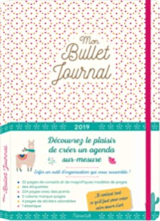 Bullet Journal Planner 2019 Weekly & Monthly Agenda: Stylish ...