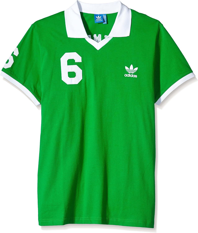 adidas Trikot OG Polo, Hombre, Verde/Blanco, S: Amazon.es: Ropa y ...