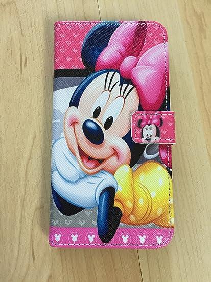 wholesale dealer 5fe66 68cff iPhone 7 Plus Wallet Case, Minnie Mouse Flip Stand Pu Leather Case Wallet  For iPhone 7 Plus #1