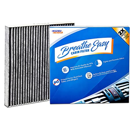 Amazon.com: Installer Champ Breathe Easy, filtro de cabina ...
