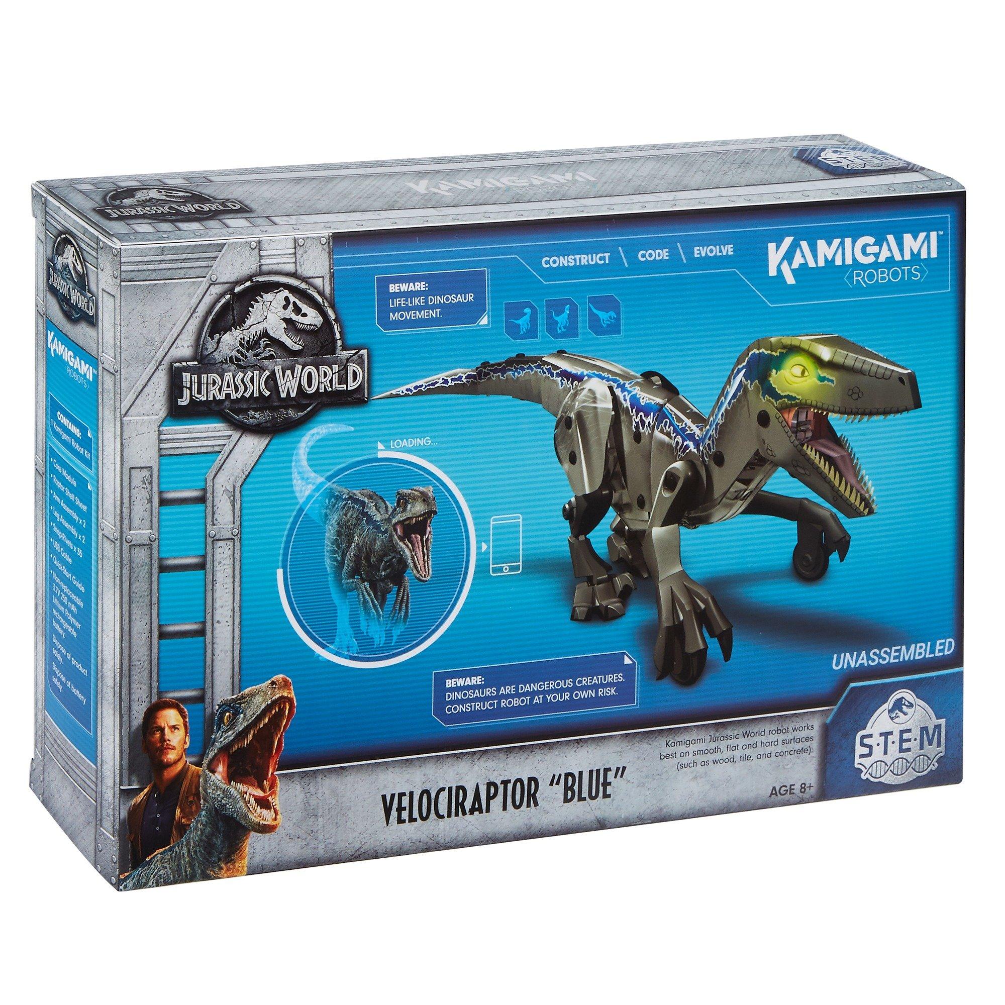 Kamigami Jurassic World Blue Robot by Jurassic World Toys (Image #6)