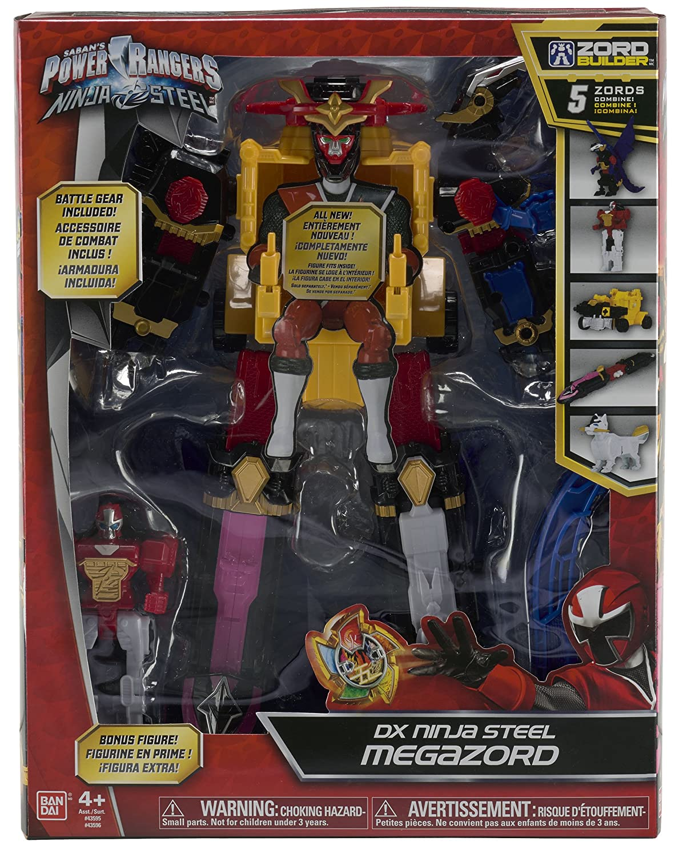Power Rangers 43596 -/Ninja Steel Figurine Deluxe Megazor