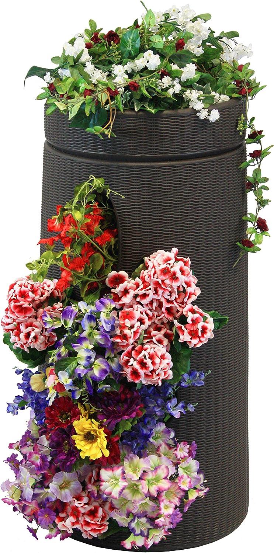Dark Brown Good Ideas ANTE-DBR Antebellum Vertical Garden Planter