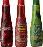 Weikfield 3 in 1 Sauces Combi Pack, 650g