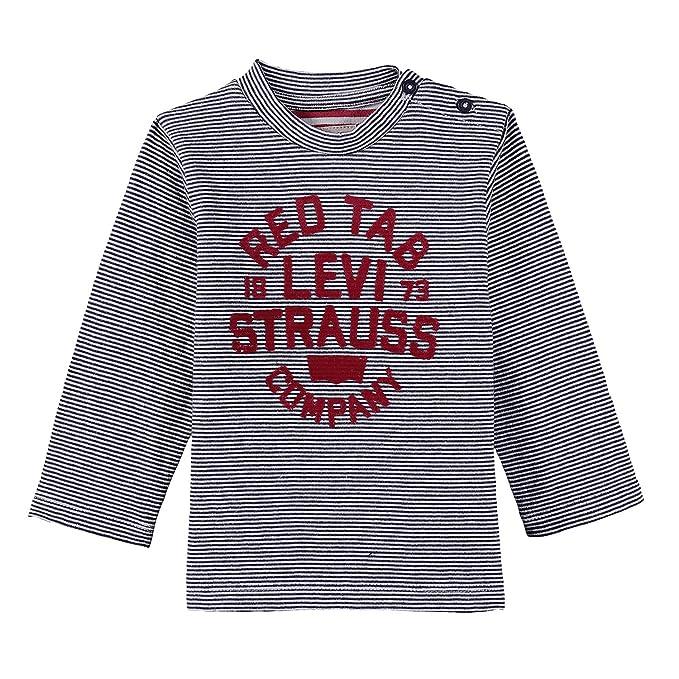 5a70dfd3e Levi s -Camiseta Bebé-Niños Azul (Dress Blue 48) 1 Año (Talla