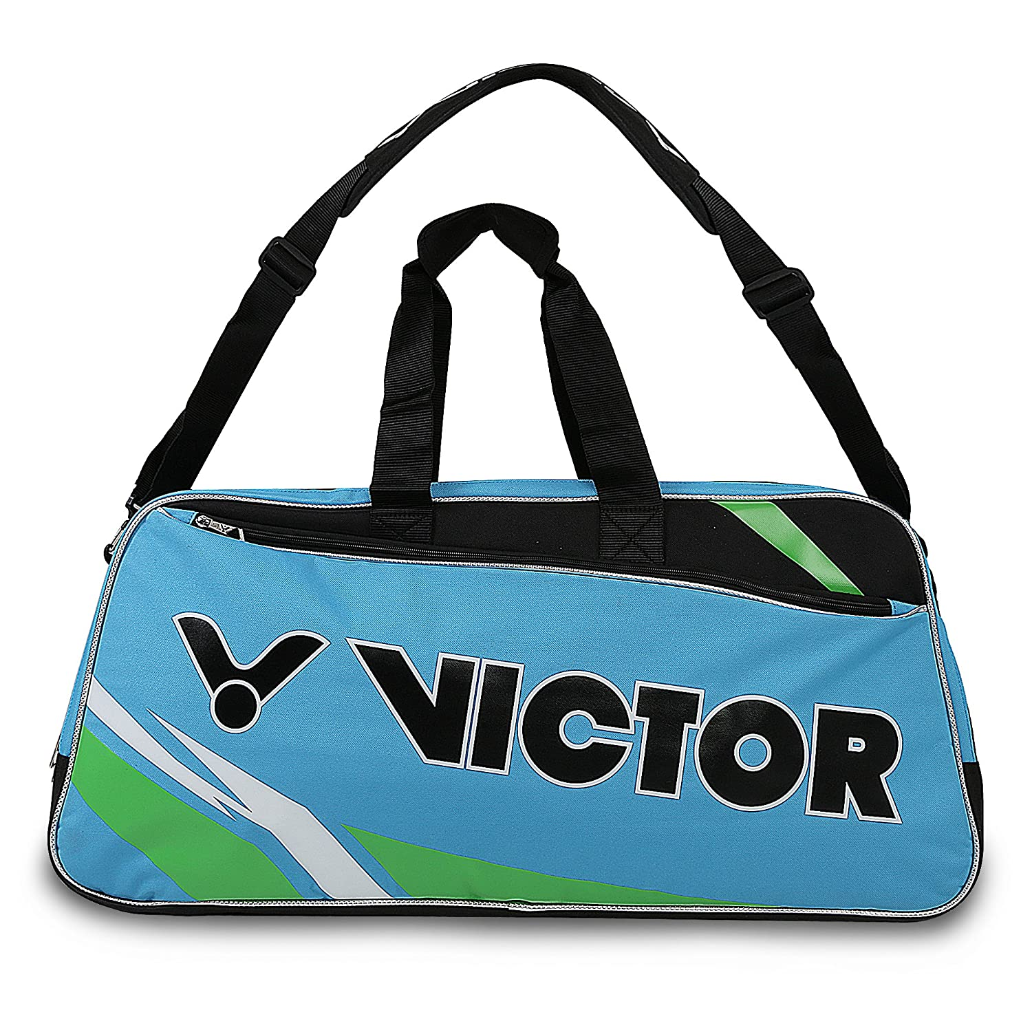 9fb40ecfa8 Buy Victor AG-510 Badminton Kit Bag in 2 Different Color (12Pcs Racket  Storage Space) (Blue Green) Online at Low Prices in India - Amazon.in