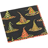Caspari Witches Hats Paper Cocktail Napkin Package