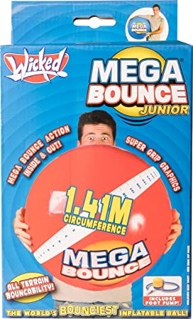 Wicked Mega Bounce - Bola Hinchable Grande: Amazon.es ...