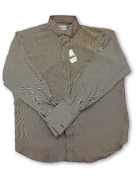 info for d0b20 8dda6 Pancaldi & B Wing Collar Shirt in Brown Size 16.5 Silk ...