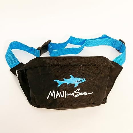 12517b12c3b8 Amazon.com : Maui and Sons Straight Shark Adult Fanny Pack (Blue ...