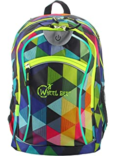 3bc673f02a30e Wheel-Bee Backpack Revolution-Two Tone Grey Daypack