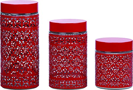 Ragalta Rca 058 Universal Containers Set Glass Container Of Kitchen