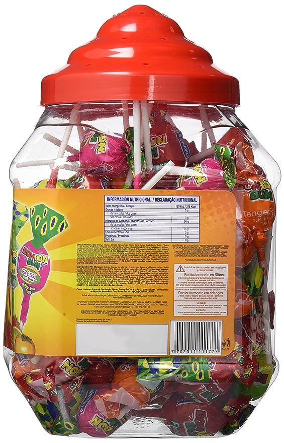 Bon Bon Bum Bubble Gum Bote Surtido - Paquete de 100 ...