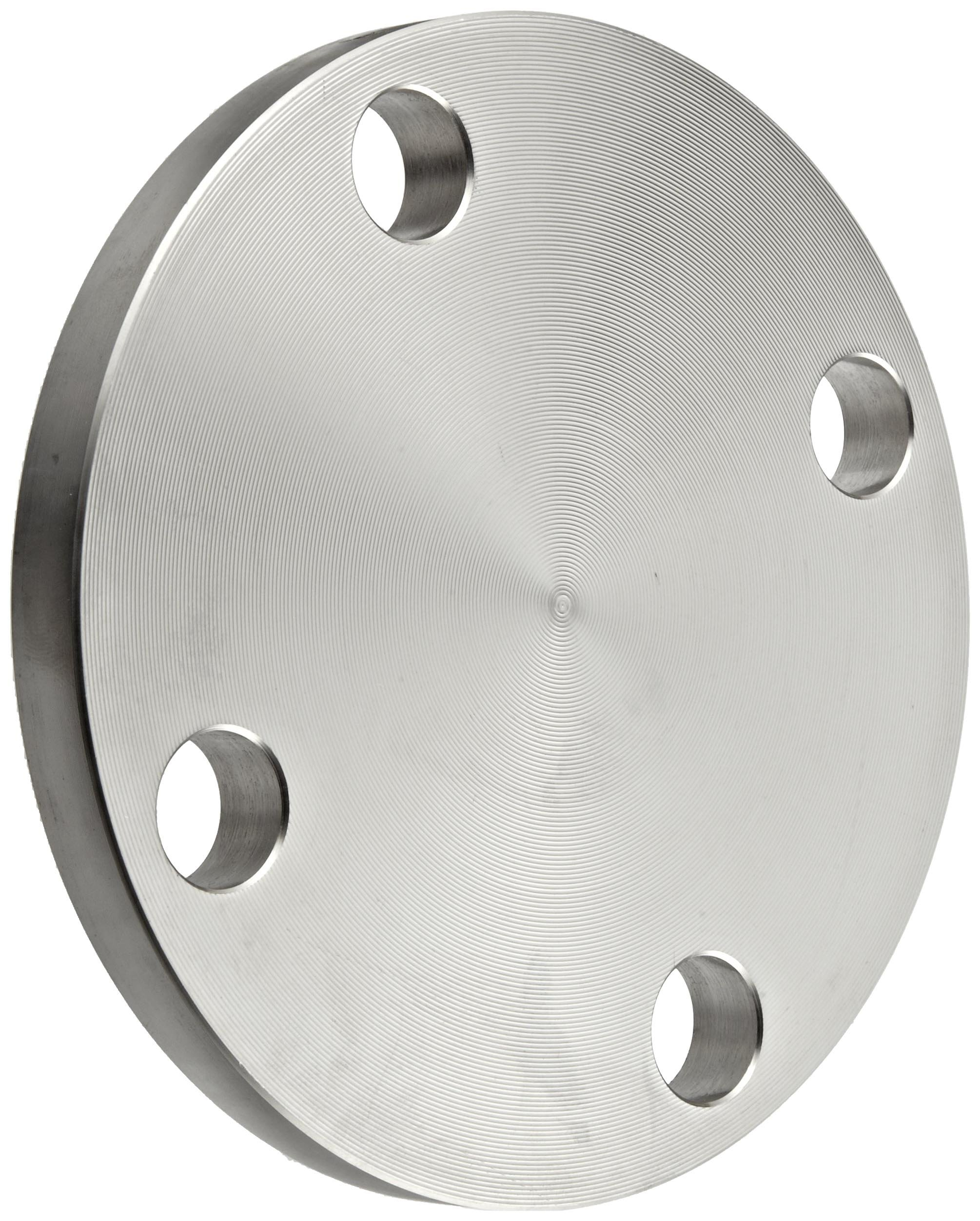 Stainless Steel 304/304L Plate Pipe Fitting, Flange, Blind, Class 150, 6'' Pipe Size