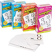 Trend Enterprises Math Operations Flash Cards Pack - Set of 4