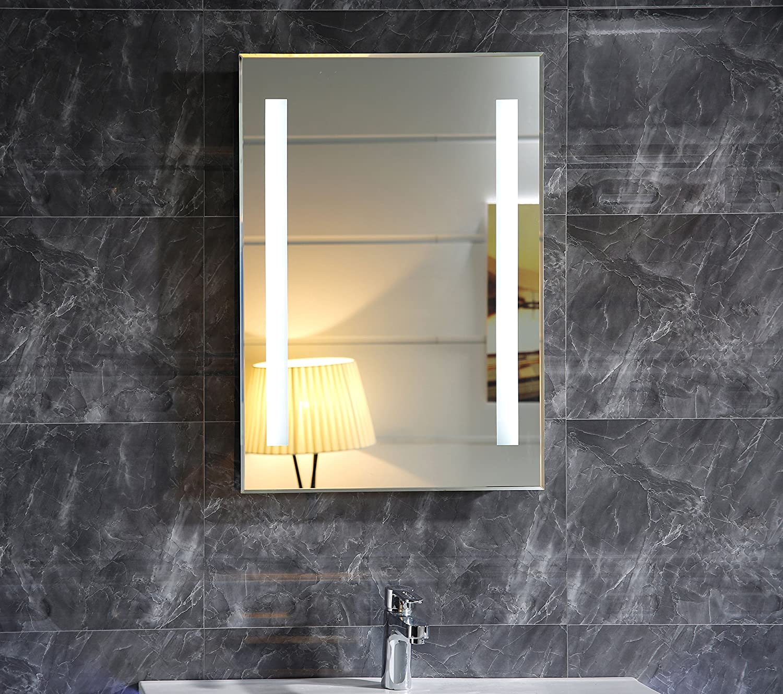 Badspiegel Mit Beleuchtung dr fleischmann led beleuchtung badspiegel badezimmerspiegel gs055n